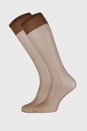2 PACK силонови чорапи до под коляното 10 DEN