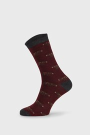 Червени чорапи  Fantasy Winter