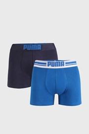 2 PACK сини боксерки Puma Placed Logo