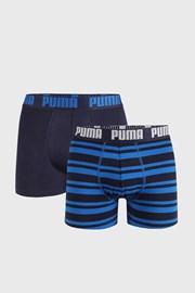 2 PACK сини боксерки Puma Heritage Stripe