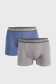 2 PACK сиво-сини боксерки DIM Ecosmart