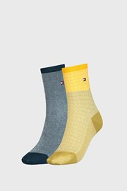 2 PACK дамски чорапи Tommy Hilfiger Argyle