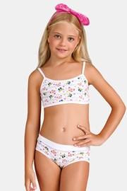 Комплект за момичета от бикини и топ Butterfly I
