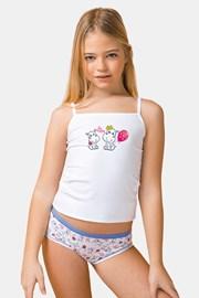 Комплект от потник и бикини за момичета Be happy
