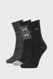 3 PACK дамски чорапи Calvin Klein Isla