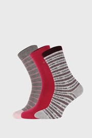3 PACK дамски чорапи Calvin Klein Katerina