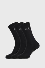 3 PACK черни чорапи Puma Sport