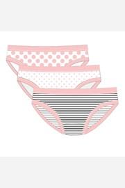 3 pack бикини за момичета Pink Line