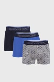 3 PACK сини боксерки Reebok Corey