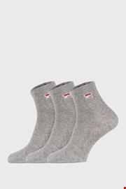 3 pack сиви чорапи до глезена FILA