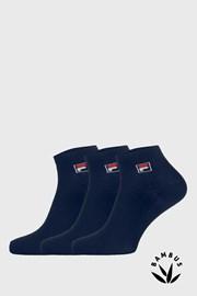 3 pack тъмносини чорапи до глезена FILA