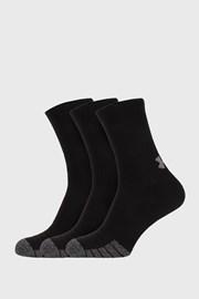 3 PACK по-дълги черни чорапи Under Armour