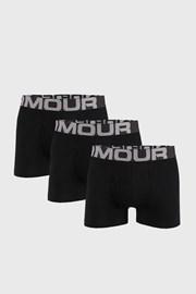 3 PACK черни боксерки Under Armour Cotton