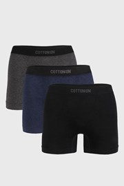 3 PACK боксерки Seamless Trunk I