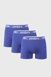 3 PACK сини боксерки Umbro BIO