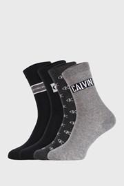 4 PACK дамски чорапи Calvin Klein Bronx I
