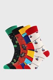 4 PACK чорапи Bellinda Crazy Socks Alien
