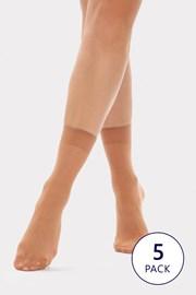 5 PACK силонови чорапи Nylon 20 DEN