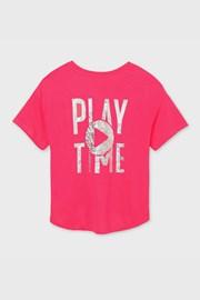 Тениска за момичета Mayoral Playtime розова