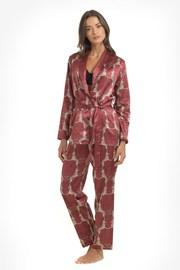 Сатенена пижама Leopard