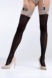 Чорапи за жартиери Daniella Black