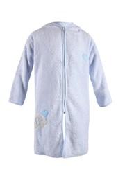 Детски халат Blue Kids син слон