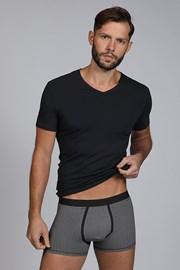 Мъжки сет от тениска и боксерки Dandy черен