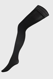 Дамски силиконови чорапи Grid 40 DEN