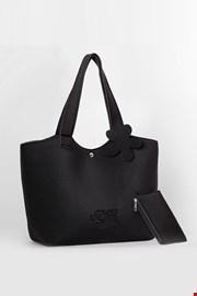 Плажна чанта Lady Etna черна