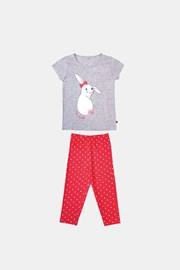 Пижама за момичета Buny сивооранжева