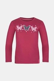 Тъмнорозова блуза за момичета LOAP Bifi