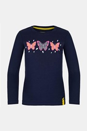 Тъмносиня блуза за момичета LOAP Bifie