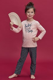 Пижама за момичета Enjoy things