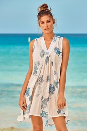 Плажна рокля Itaca White