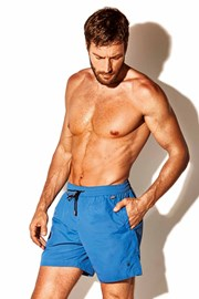 Мъжки бански шорти Caicco plus size сини