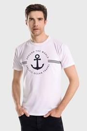Бяла тениска Captain Blues