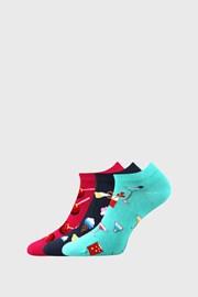 3 PACK дамски чорапи със сладости