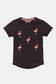 Тениска за момичета Flamingo