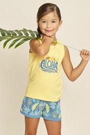 Пижама за момичета Aloha Palms