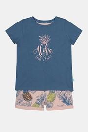 Пижама за момичета Aloha Pineapple