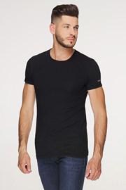 Черна памучна тениска PLUS SIZE