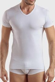 Бяла памучна тениска Max PLUS SIZE