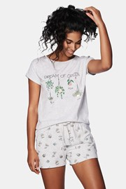 Дамска пижама Green