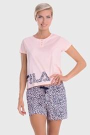 Дамски комплект цвят праскова FILA Short jersey