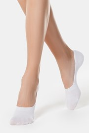 Дамски памучни чорапи slip on