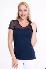 Дамска блуза Spalla с къс ръкав