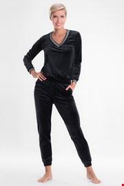 Дамски черен домашен комплект Geri