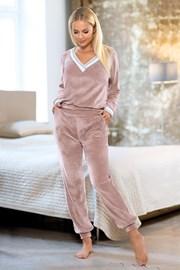 Розов дамски домашен комплект Geri