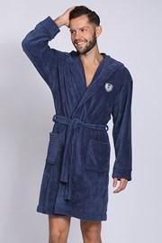 Мъжки халат Ivo Navy