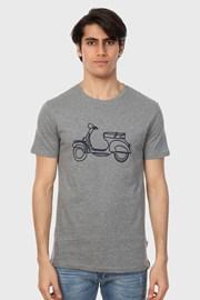 Сива тениска Rider